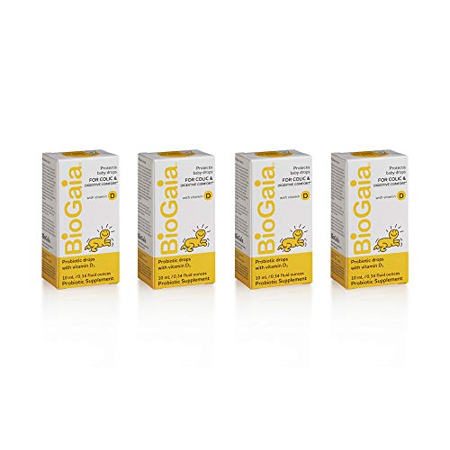 BioGaia ProTectis Drops with Vitamin D3 - 10ml Pack of 4 by BioGaia