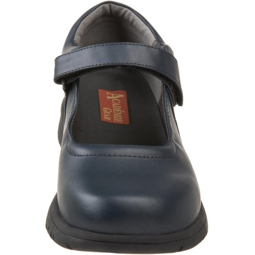 Academie Lauren Velcro Mary Jane (peuter / Klein Kind / Groot Kind), Marine, 5 M Us Big Kid