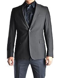Men's MCBI170003O Black Cotton Blazer