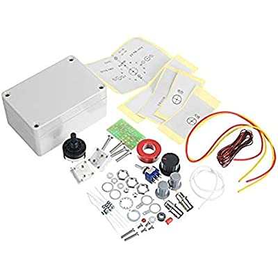 ZXJUAN Wireless Control For HAM RADIO QRP BNC Interfac 1-30Mhz LED VSWR DIY Manual Antenna Tuner Kit