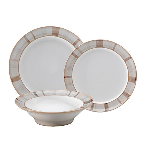 Denby Truffle Layers 12-Piece Dinnerware Set