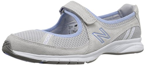 888098228595 - New Balance Women's WW515 Walking Shoe,Grey/Blue,8.5 2A US carousel main 0