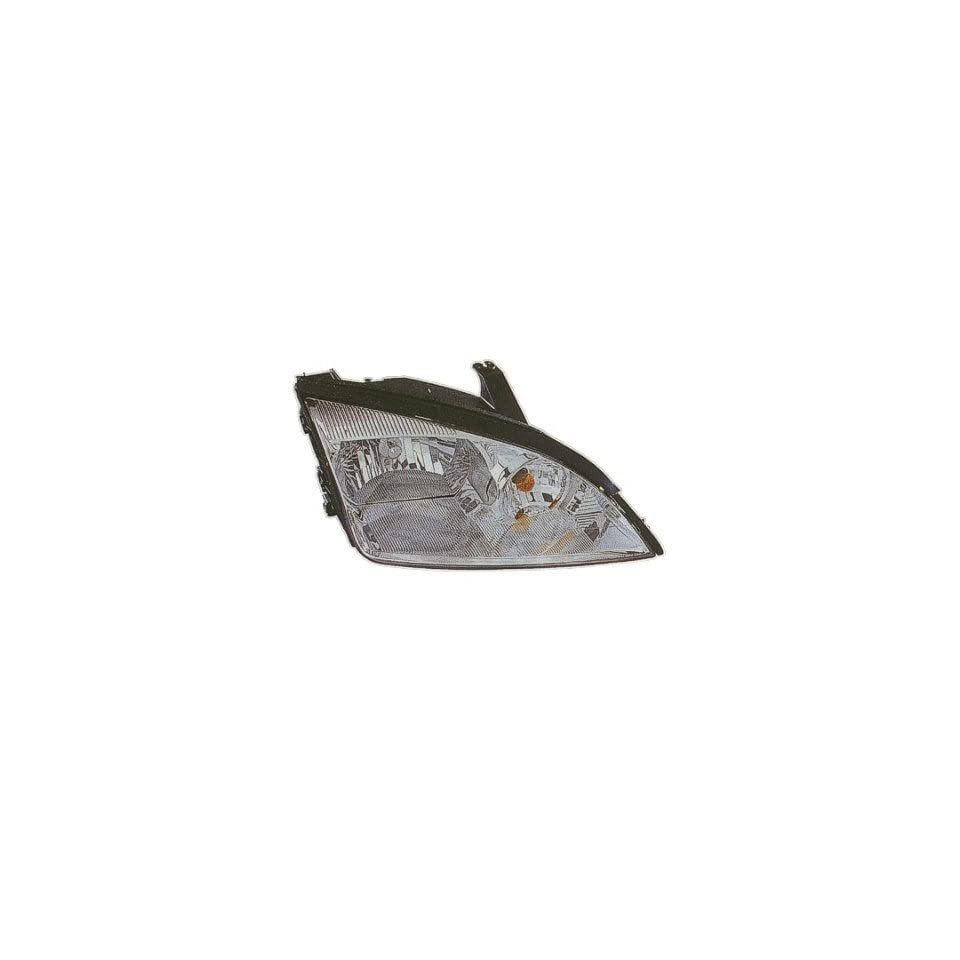 2005 07 FORD FOCUS HEADLIGHT ASSEMBLY EXC SVT, WITHOUT HIGH INTENSITY, DRIVER SIDE   DOT Certified