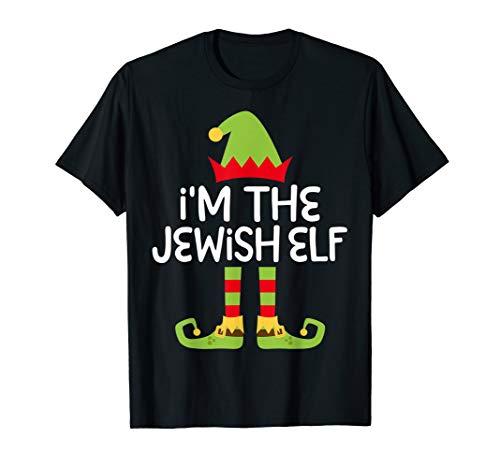 I'm The Jewish Elf T-Shirt Matching Christmas Costume Shirt -