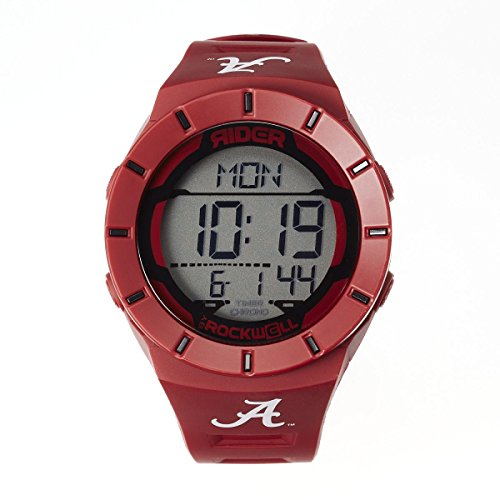 Rockwell NCAA Alabama Crimson Tide Men's Coliseum Watch, Adjustable, Crimson -