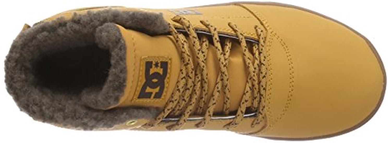 DC Shoes Crisis High Wnt, Unisex Babies' Standing Baby Shoes, Brown (wheat/dk Chocolate), 1 UK, 33 EU