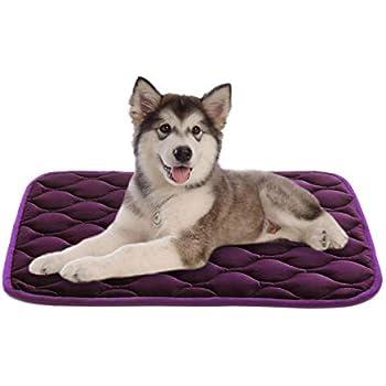 SHU UFANRODogBed CratePad WashableMat Anti-SlipMattressPetBedPadsKennelPadsforLarge/Medium/Small/Pets Sleeping 42/35/30inch