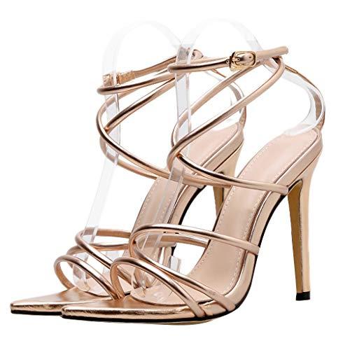 Pengy Woman Wedge Platform Shoes Peep Toe Sandal Lace Up Summer Slingback Dress Shoes -