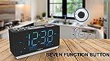 Radio Alarm Clock Bedside Alarm Clock Dual Alarm,FM