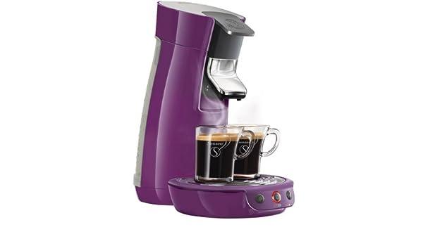 Cafetera Senseo Viva Café HD7825/41 - violetA + Porta-cápsulas ...