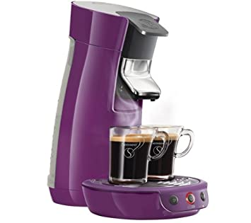 PHILIPS Cafetera Senseo Viva Café HD7825/41 - violetA ...