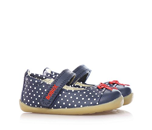 Bobux Navy/White Dots