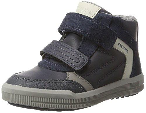 Geox J Arzach B, Zapatillas Altas para Niños Azul (Navy/grey)