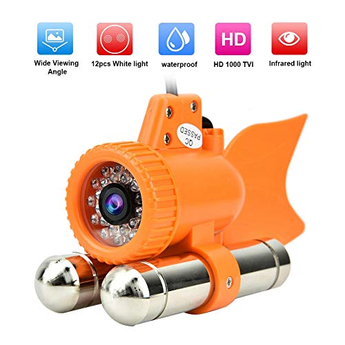 12LED 1000TVL HD Underwater Camera Color Video Night Vision Fish Finder DC12V (30m)