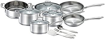Chef's Star Professional Grade Stainless Steel 14 Piece Pots & Pans Set