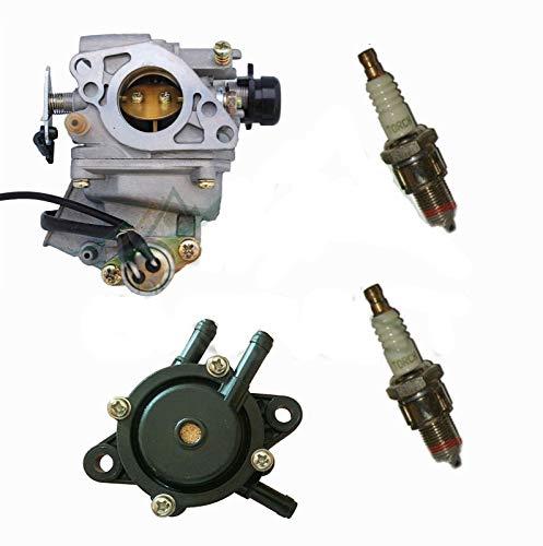 Salable Carburetor Set f/(Honda GX620) 20HP with Fuel Pump & Spark Plugs Tune Up Kit ()