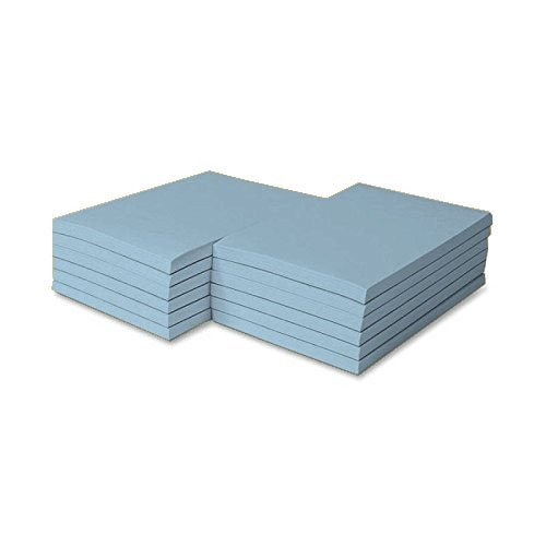 Pastel Scratch Pad - Colored Memo Pads Size 4 X 6 - 100 Sheets Per Pad, 5 Pads Per Pack (Pastel Blue)