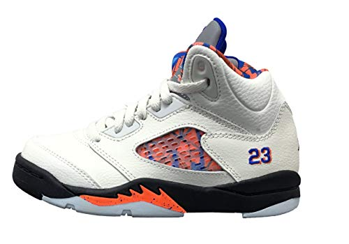 Jordan 5 Women Shoes - Jordan Boys Jordan 5 Retro PS Basketball Shoes White 1 Medium (D) Little Kid