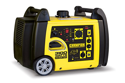 Champion Power Equipment 75537i 3100 Watt RV Ready Portable Inverter Generator with Wireless Remote Start