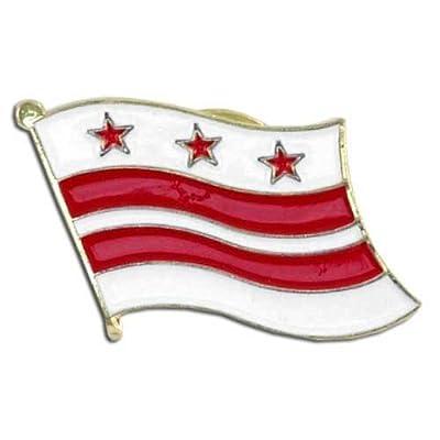 US Flag Store Washington DC Flag Lapel Pin