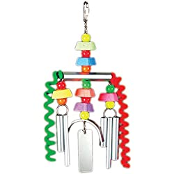 Prevue Pet Products Chime Time Monsoon Bird Toy 62156