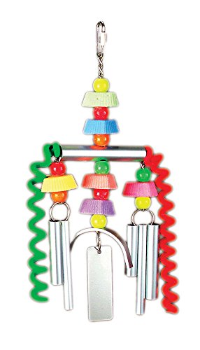 Prevue Pet Products Chime Time Monsoon Bird Toy (Prevue Chime)