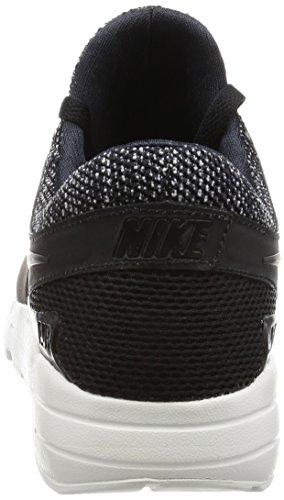 Nike - Zapatillas de Deporte de Lona Hombre blanco y negro