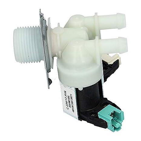 Válvula Electroválvula Lavadora de dos vías 481228128468 Whirlpool ...
