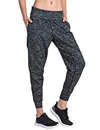 Matymats Women's Sports Harem Sweat Pant Jersey Pocket Jogger