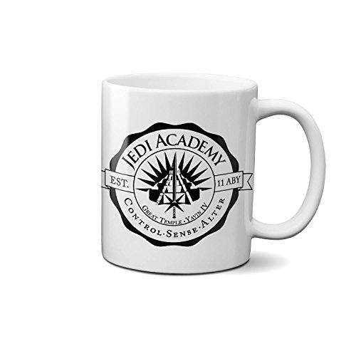 Jedi Academy Star Wars Funny Novelty Gift Mug Coffee Tee Cup (boxed) Present White Ceramic Mug 330ml/ 11Oz.