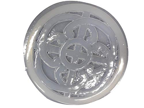 Cheap Celtic Knot Design Stepping Stone Concrete or Plaster Mold 1096