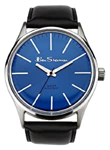 Ben Sherman R774.03BS - Reloj de caballero de cuarzo, correa de piel color negro