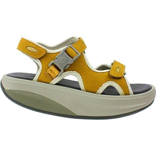 Women's MBT Kisumu 3 Honey Leather Sandal (41 (US Women 10))