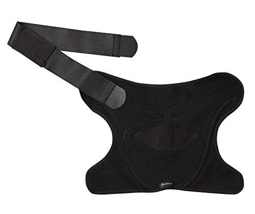 Phiten Shoulder Support, Black, Medium