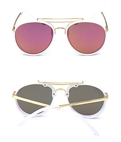 New Cute Brand Designer Metal Plastic Children Sunglasses Anti-uv Baby Retro - Glasses Brands Baby