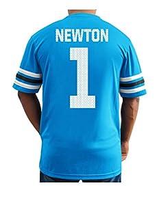 NFL Carolina Panthers Cam Newton Men's 1 Great Game Fashion Top