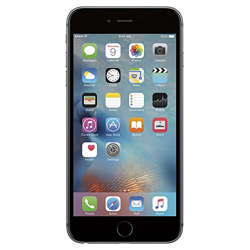 Apple iPhone 6S Plus Factory Unlocked Smartphone, 16 GB, Space Gray (Certified Refurbished)