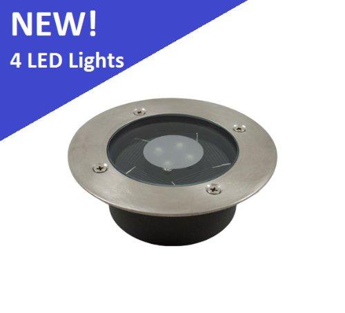 Recessed Solar Led Deck Lights - 1