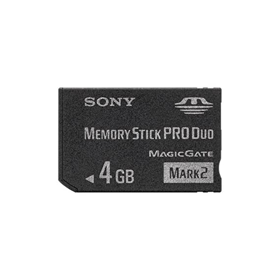 Sony Memory Stick PRO Duo (Mark 2) Memory Card 4 GB 4GB 4 Gig for Digital Camera Sony Cybershot Cyber-Shot/Alpha Series 1 Memory Card Type: Sony Memory Stick PRO DUO (Mark 2) Memory Card Capacity: 4GB Write Speed: 32Mbps (minimum)(When combined with optimized Memory Stick PRO format-compatible devices)