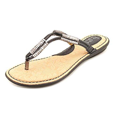 B.O.C. Womens Reverie Open Toe Casual Slide Sandals Black gJnsI