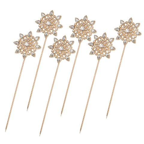 Starburst Flower Pin - 3