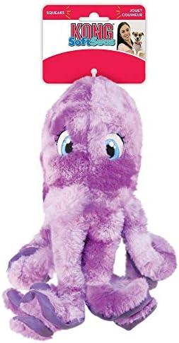KONG SoftSeas Octopus Thick Plush Dog Toy – Large
