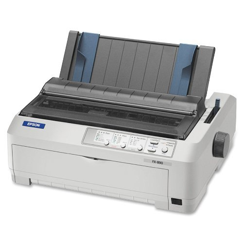 - Epson FX-890 Impact Printer (C11C524001) (Certified Refurbished)