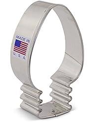 Christmas Lights/Light Bulb Cookie Cutter - 3.25 Inch - Ann Clark - US Steel
