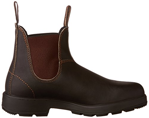 Unisex Chelsea Stout Adults' Blundstone Boots Classic 500 Brown qxIpnEO