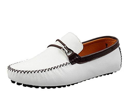 Icegrey Men's Moccasin Boots Weiß e2OlHiB