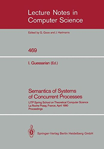 Semantics Of Systems Of Concurrent Processes  Litp Spring School On Theoretical Computer Science  La Roche Posay  France  April 23 27  1990 Proceedings  Lecture Notes In Computer Science