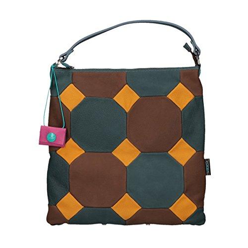 Gabs Sofia shoulder bag trasformable patchwork Franco multicolor