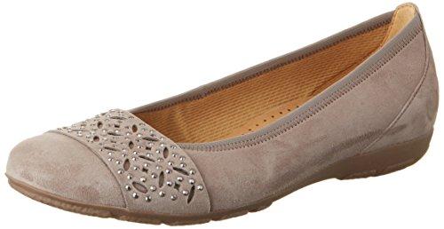 Gabor Shoes Fashion, Bailarinas para Mujer Beige (kiesel 12)