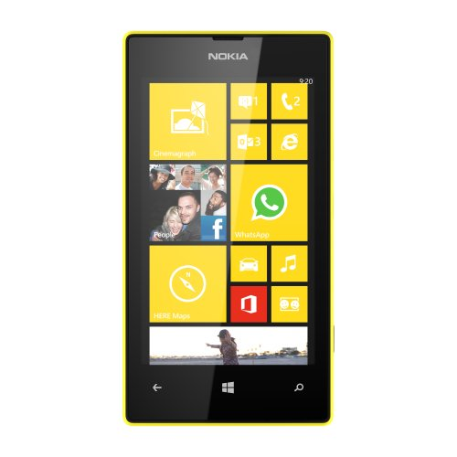 Nokia Lumia 520 Unlocked GSM Windows 8 Touchscreen Smartphone - Yellow